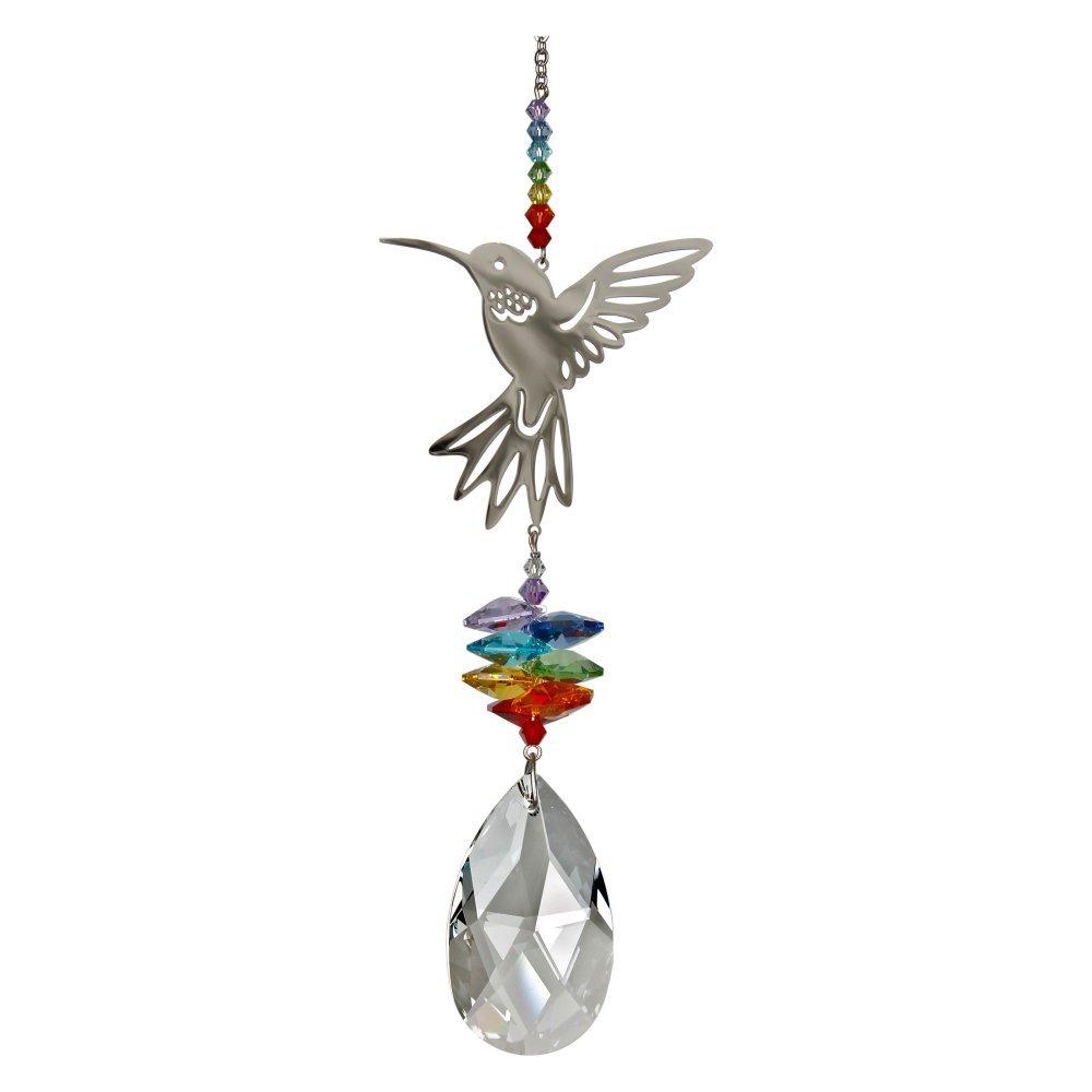 Woodstock Chimes Chimes Crystal Fantasy 28cm Fantasy Hummingbird Chime Hummingbird B01IURW3WC, 小さな石屋さん:277d38ea --- artmozg.com