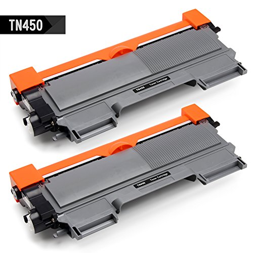 IKONG 2-BLACK TN450 TN420 High Yield Compatible Toner Cartridge Replacement works with HL-2270DW HL-2280DW MFC-7860DW DCP-7065DN MFC-7360N HL-2230 HL-2240D HL-2240 DCP-7060D, (Compatible Black High Capacity Toner)