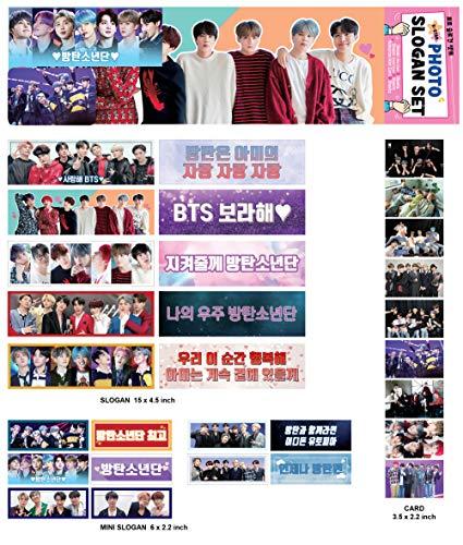 Idolpark BTS New Poster/Photo/Book/Sticker. (Photo Slogan Set)