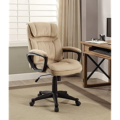 comfortable office. Serta Style Hannah I Office Chair, Microfiber, Light Beige Comfortable