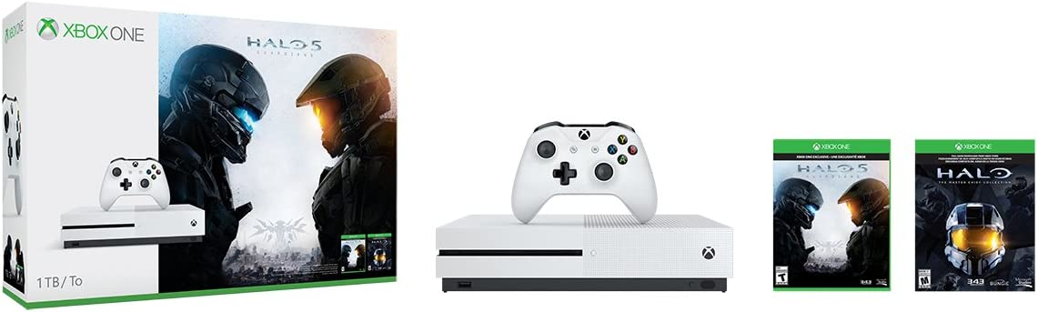 Amazon com: XBOX ONE S 1TB SYSTEM W/HALO COLLECTION: Video Games