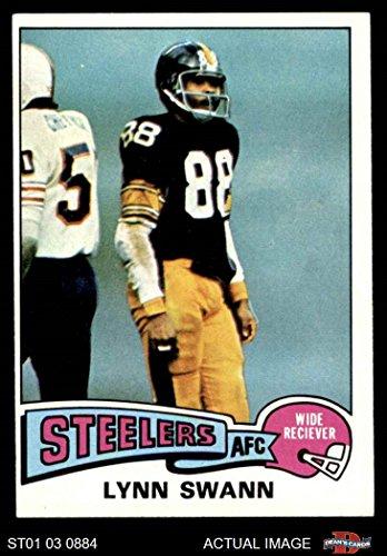 1975 Topps # 282 Lynn Swann Pittsburgh Steelers (Football Card) Dean's Cards 5 - EX Steelers (Lynn Swann Pittsburgh Steelers)