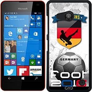 Funda para Microsoft Lumia 550 - 2016 Pies Alemania by comlaprom