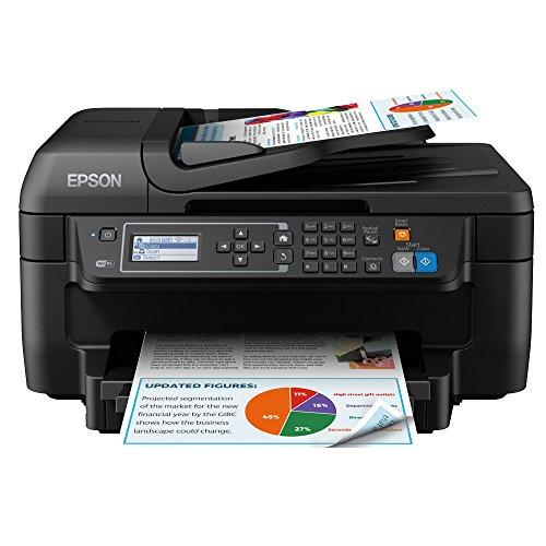 Epson WorkForce WF-2750DWF Print/Scan/Copy/Fax Wi-Fi Printer