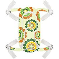 Skin For ZEROTECH Dobby Pocket Drone – Hippie Flowers | MightySkins Protective, Durable, and Unique Vinyl Decal wrap cover | Easy To Apply, Remove, and Change Styles | Made in the USA