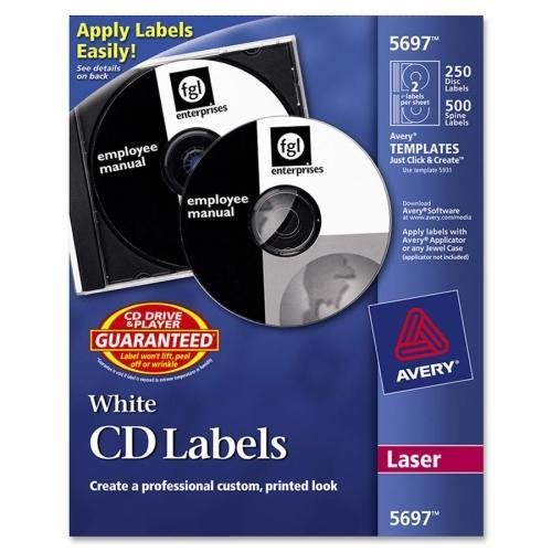 Jewel Case Laser Labels - 3