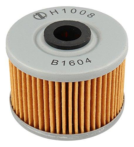 MIW H1008 Oil Filter for Honda CBR250R 11 12 13, CBR300R 15 16, CRF250L 13 14 15 16, NX250 88 89 90, TRX250 Fourtrax 85 86 87, TRX250X 87 88 91 92, TRX300 EX 93 94 95 96 97,
