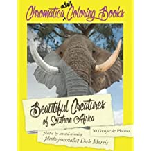 Beautiful Creatures of Southern Africa: An Adult Coloring Book featuring the most beautiful creatures that reside in Southern Africa (Chromatica Coloring Books) (Volume 2)
