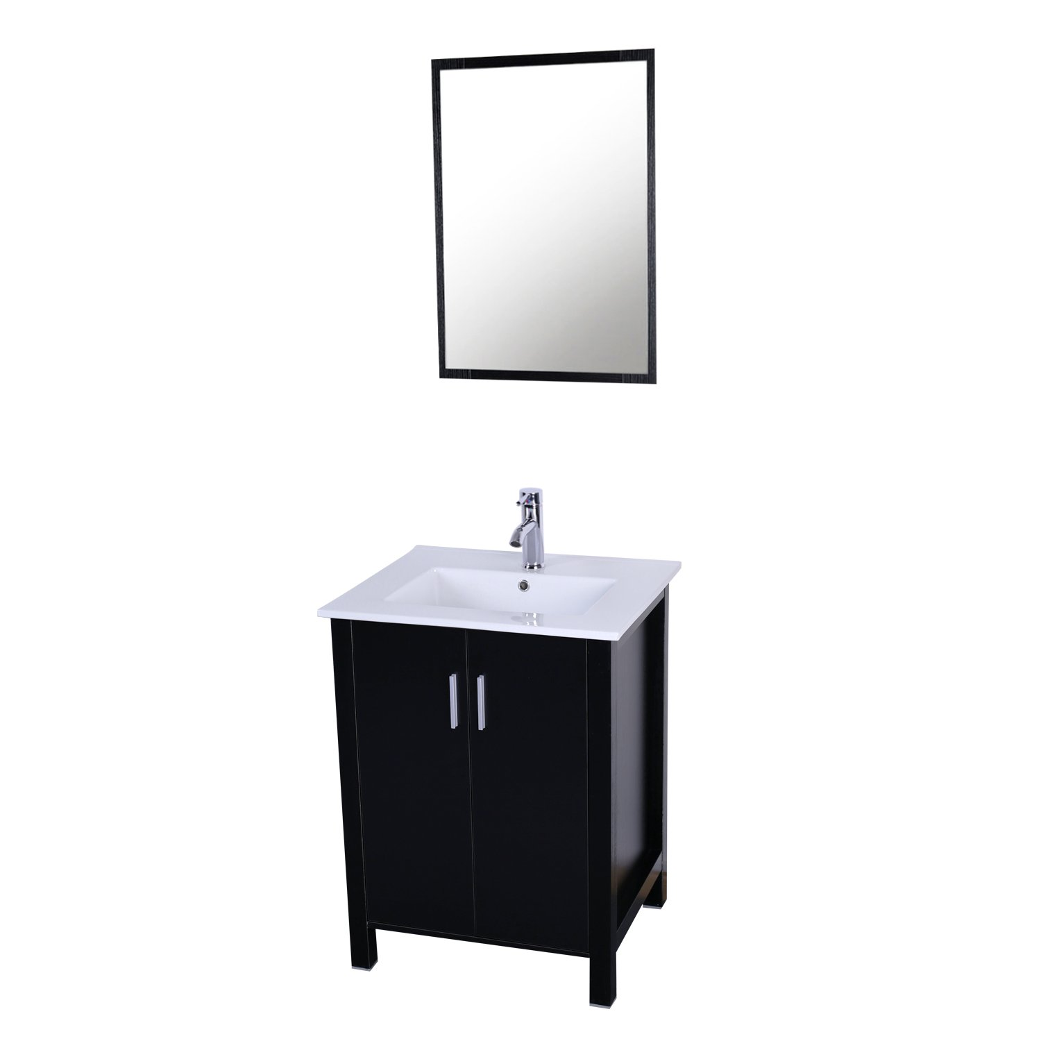 Eclife Sales Promotion 24\'\' Modern Bathroom Vanity And Sink Combo ...