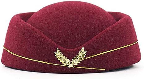 FJKL Sombreros Boinas para Mujer Gorras Boina para Auxiliar De ...
