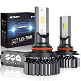 SEALIGHT 9006 HB4 LED Headlight Bulb, Low Beam LED Bulb, Fog Light, 6000K Bright White, Halogen Replacement, Quick Installation