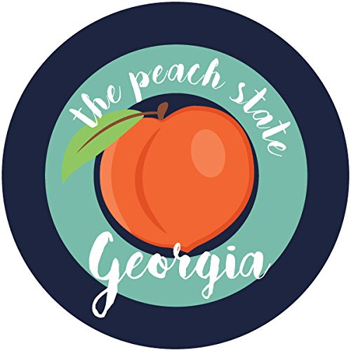 georgia peach decal - 8