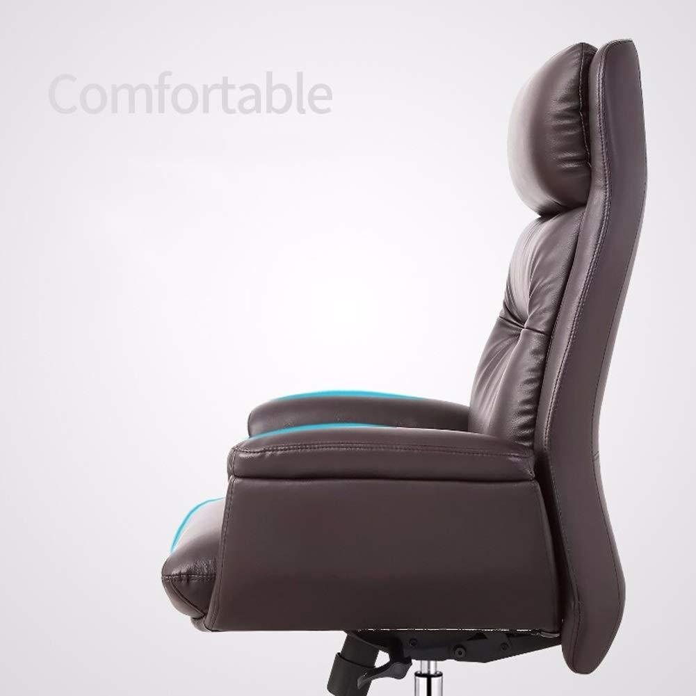 XZYZ stol hög rygg, snurra hem kontor uppgift dator spel justerbar höjd ergonomisk ryggstol (färg: vit) Vitt