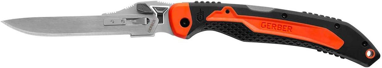 Gerber Vital Big Game Folder – Tool-less Exchangeable Blade Hunting Knife w Sheath 31-003053