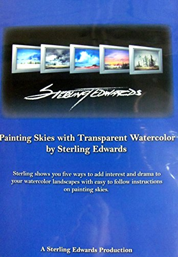 Watercolor Original Painting - Painting Skies with Transparent Watercolor