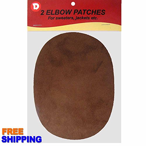 Faux - Suede Garment Iron-On Elbow Patches 4 1/2 x 5 1/2 in