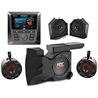 MTX RZRSYSTEM2.9 Four Speaker, and Single Subwoofer Polaris RZR Audio System