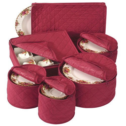 HomyDelight Holiday China Storage Set 4 lbs 12'' - 13.5'' 4'' Cup Chest 11.5'' - 18'' by HomyDelight (Image #1)