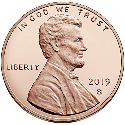- 2019 Various Mint Marks Lincoln Shield 2019 S,P,D Lincoln Shield Cents S Proof and P,D Uncirculated All 3 Coins Uncirculated