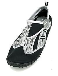 Just Speed Big Tall Mens Aqua Shoes Socks Boating Sailing Beach Sand Pool Fun Travel Water Hiking