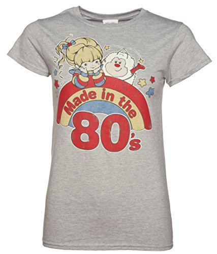 Womens Rainbow Brite Made in the 80s T Shirt