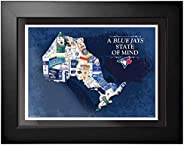Toronto Blue Jays - 12x16 State of Mind Framed Artwork