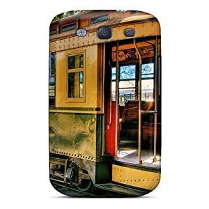 For Galaxy S3 Fashion Design Old Tramway Case-HefuYdl3278ySajt