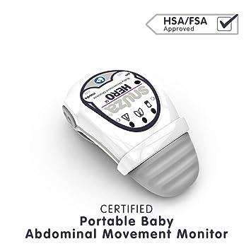 Snuza Hero (SE) Premium Baby Movement Monitor – Wearable Infant Abdominal  Movement Monitor