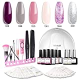 Modelones Gel Nail Polish Kit with UV Light - 4 Elegant Colors - Best Reviews Guide