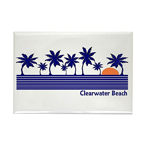 CafePress Clearwater Beach, Florida Rectangle Magnet, 2