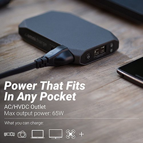 Omnicharge AC Portable Power Bank - Omni 13 – Battery Pack for Ultrabooks, Phones, Cameras, and More by Omnicharge (Image #2)