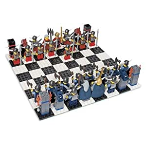 Lego Vikings Chess Set Toys Games