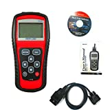 Clkjdz Car Scanner Diagnostic Live Data Code Reader Check Engine EOBD OBD2 OBDII MS509