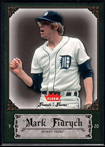 Baseball MLB 2006 Fleer Greats of the Game #63 Mark Fidrych Tigers