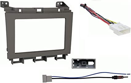 Amazon.com: Compatible with Nissan Maxima 2009 2010 2011 2012 2013 2014  Double DIN Stereo Harness Radio Install Kit Gray Dash: Car ElectronicsAmazon.com