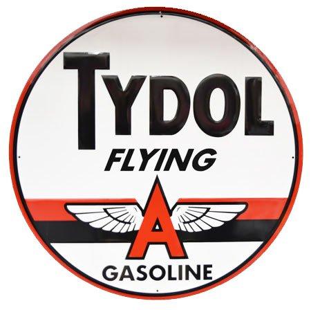 Tydol Flying A Gasoline Sign