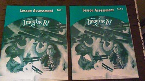 Imagine It Lesson Assessment Workbook Units 1-6 Grade 5