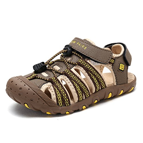 Pictures of DREAM PAIRS Boys & Girls Toddler/Little Kid/Big Kid 171111-K Outdoor Summer Sandals 4