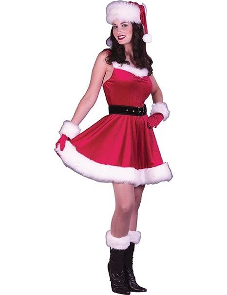 Amazon.com: De la Mujer Papá Noel bebé disfraz, Moderno ...