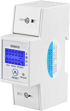 LCD Digital Energiezähler Energiekostenmessgerät Zähler Wattmeter Stromzähler DE
