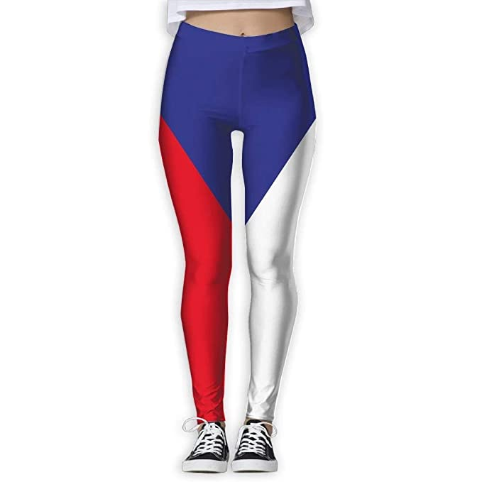 Deglogse Yoga Pants,Workout Leggings,Czech Republic Flag ...