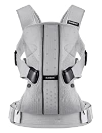 BABYBJORN Baby Carrier One - Silver, Mesh BOBEBE Online Baby Store From New York to Miami and Los Angeles