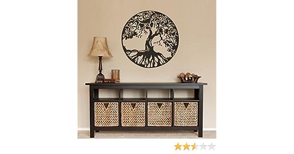 Etiqueta de la pared decoración de la naturaleza del árbol de la ...