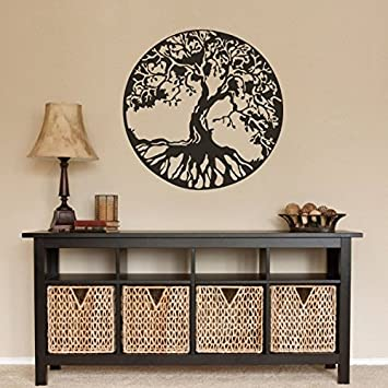 Nature Arbre Decor Sticker mural Motif arbre de vie celtique