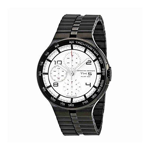 Porsche Design P'6360 Flat Six Chronograph Automatic Mens Watch 6360.43.64.0275