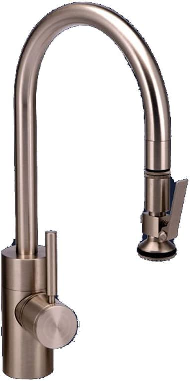 Waterstone 5800-SS Standard Reach PLP Pull Down Faucet, Solid Stainless Steel