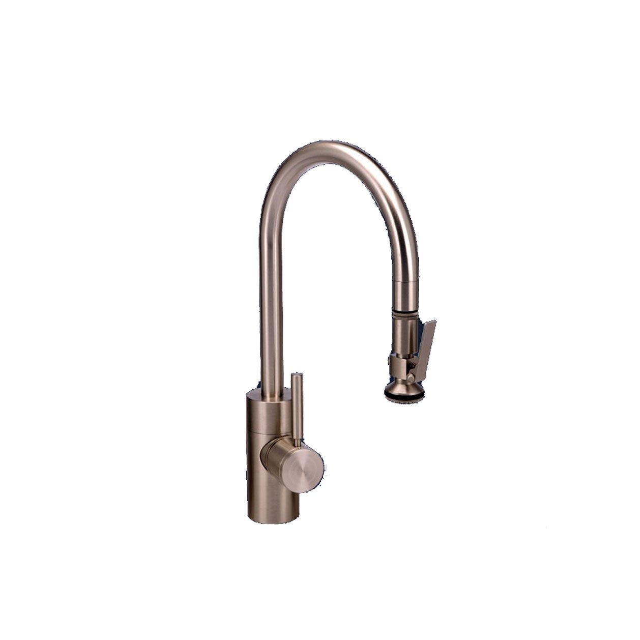 White Waterstone 5800-WT Standard Reach PLP Pull Down Faucet