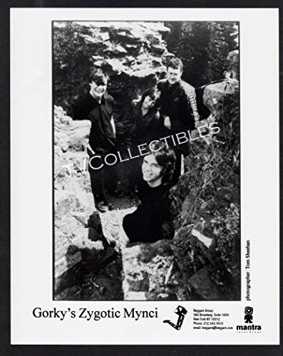 8x10 Photo~ Musical Group GORKY'S ZYGOTIC MYNCI ~Mantra Records Promo