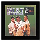 Best The Isleys - The Isley Brothers - Let's Go Mini Poster Review