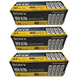 Sony SUM3-NUB Ultra Heavy Duty Carbon Zinc Battery AA size (120 Pack)